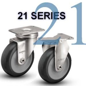 Series 21 Light and Medium Duty Casters