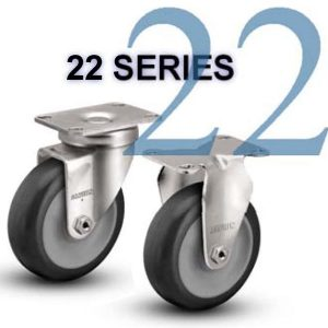 Series 22 Light and Medium Duty Casters