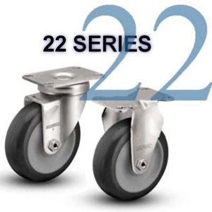 22 Series Light/Medium Duty Casters