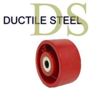 6 Inch 1600 Lb Roller DUCTILE STEEL WHEEL
