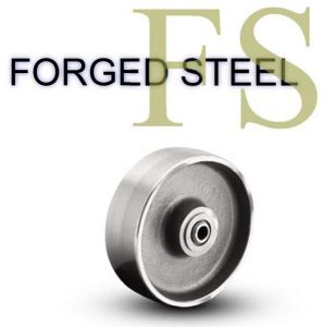 8 Inch 3000 Lb Roller Bearing FORGED STEEL WHEEL