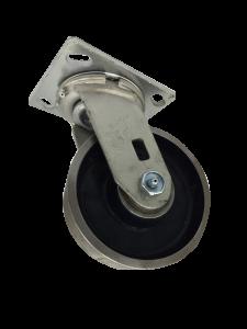 SERIES 44 Swivel 5 inch Forged Steel 1200 Lb MEDIUM / HEAVY DUTY CASTERS