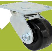 SERIES 44 Swivel 3 1/4 inch Phenolic 700 Lb MEDIUM / HEAVY DUTY CASTERS