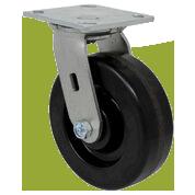 SERIES 44 Swivel 6 inch Phenolic 1200 Lb MEDIUM / HEAVY DUTY CASTERS