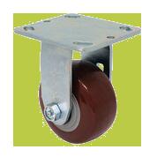 SERIES 44 RIGID 4 inch Polyurethane 500 Lb MEDIUM / HEAVY DUTY CASTERS