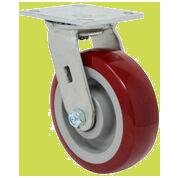 SERIES 44 Swivel 6 inch Polyurethane 720 Lb MEDIUM / HEAVY DUTY CASTERS