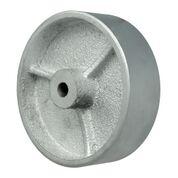 4 Inch 350 Lb Plain Bore CAST IRON WHEEL