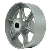 8 Inch 1800 Lb Roller CAST IRON WHEEL