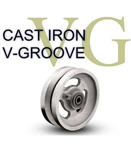 VG Series Cast Iron V-Groove Wheel