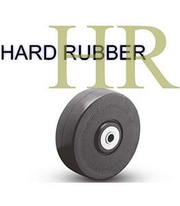 HR Series Hard Rubber Wheel