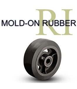 Mold-On Rubber Wheels