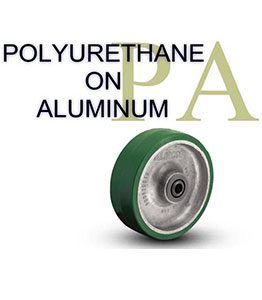 PA Series Plyurethane on Aluminum Wheel