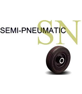 SN Series Semi-Pneumatic Wheel