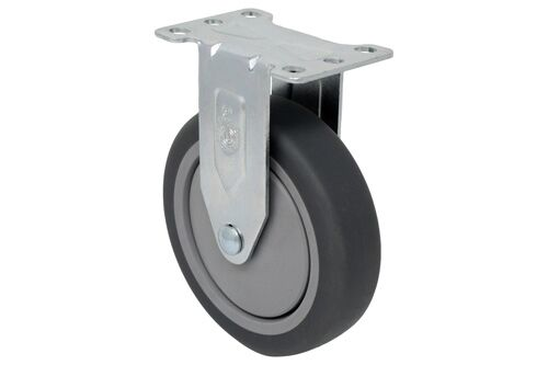 RIGID 3 inch gray rubber 210 Lb LIGHT / MEDIUM DUTY CASTERS