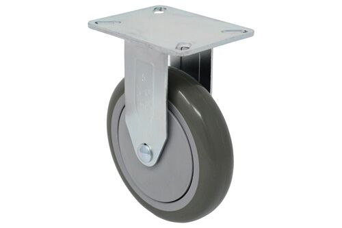 SERIES 22 RIGID 5 inch polyurethane 300 Lb LIGHT / MEDIUM DUTY CASTERS