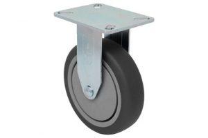SERIES 22 Swivel 5 inch gray rubber 300 Lb LIGHT / MEDIUM DUTY CASTERS