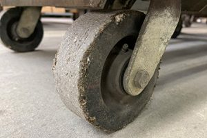 molded-rubber-wheel-stainless-steel-caster
